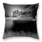 Schloss Basedow Throw Pillow