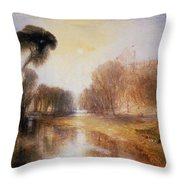 Schloss Rosenau Throw Pillow