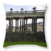 Schloss Sanssouci Gardens Throw Pillow