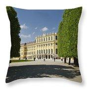 Schonbrunn Palace Vienna Austria Throw Pillow