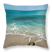 School At Blowing Rocks Throw Pillow