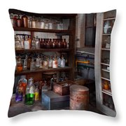 Science - Chemist - The Secret Of Life Throw Pillow