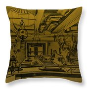 Scientific Expeditions Throw Pillow