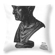 Scipio Africanus Throw Pillow by Granger