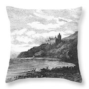 Scotland: Dunrobin Castle Throw Pillow