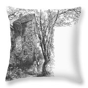 Scotland: Jedburgh House Throw Pillow
