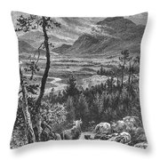 Scotland: Spey Valley Throw Pillow
