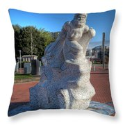 Scott Of The Antarctic Throw Pillow