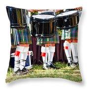 Scottish Festival 3 Throw Pillow