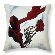 Scottsboro Boys, 1934 Throw Pillow