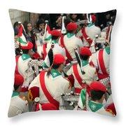 Scouts Parade Throw Pillow