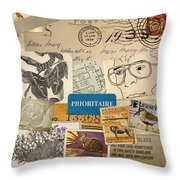 Scrapbook Page Number 2 Throw Pillow