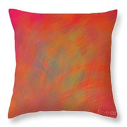 Scratched Throw Pillow