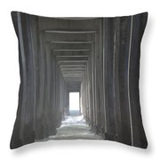 Scripps Pier La Jolla California2 Throw Pillow