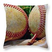Scuffed Throw Pillow by Bill Owen