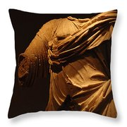 Sculpture Olympia 1 Throw Pillow by Bob Christopher