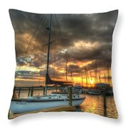 Sea Dream Throw Pillow