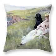 Sea Dreams Throw Pillow by Charles Trevor Garland