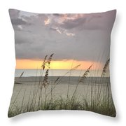 Sea Oats - Boca Grande Throw Pillow