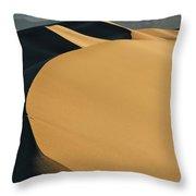 Sea Of Sand Throw Pillow