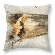 Sea Scarf Throw Pillow