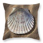 Sea Shell 2 Throw Pillow