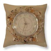 Sea Shells Time Throw Pillow