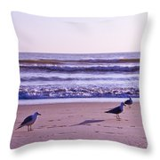 Seagull Alliance Throw Pillow