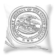 Seal: Attorney General Throw Pillow