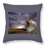 Searching For Home Throw Pillow