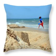 Seascape 101 Throw Pillow