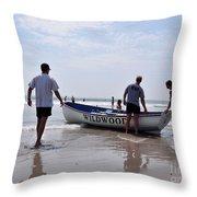 Seascape 65 Throw Pillow