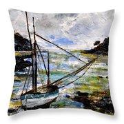 Seascape 695232 Throw Pillow
