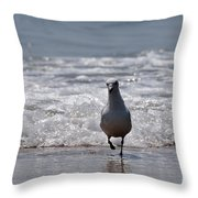 Seascape 85 Throw Pillow