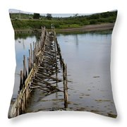 Seascape Campobello Island Throw Pillow