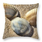 Seashells V2 Throw Pillow