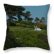 Seaside View Throw Pillow