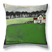 Season Your Home With Love Poster Throw Pillow