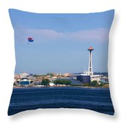Seattle - American City Throw Pillow
