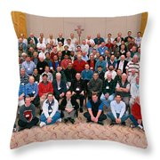 Seattle Archdiocese 2008 Priests. Throw Pillow