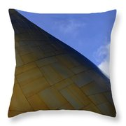 Seattle Emp Building 9 Throw Pillow