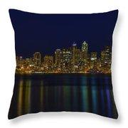 Seattle Moody Blues Throw Pillow