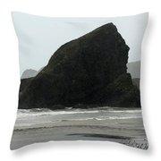 Sebastian Beach California Throw Pillow