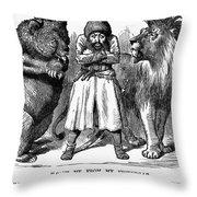 Second Afghan War 1878 Throw Pillow