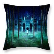 Secret Castle Throw Pillow