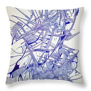 Secret Escapes Throw Pillow by Gloria Ssali
