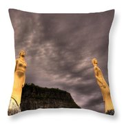 Secret Grounds Throw Pillow by Jakub Sisak