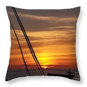 Secure For The Night Throw Pillow