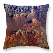 Sedona Arizona Planet Earth Throw Pillow