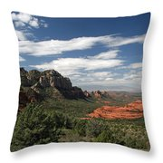 Sedona Arizona Vista Throw Pillow